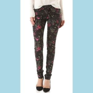 Joe's Jeans The Skinny Electric Floral Jeans 31x32